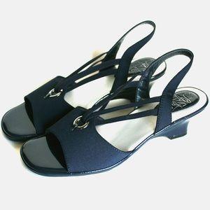 Life Stride Kitten Wedge Heel Sandals